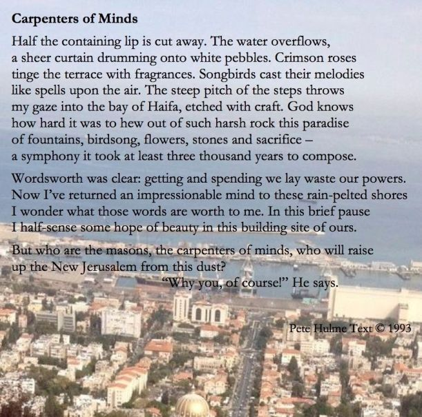 Carpenters of Minds